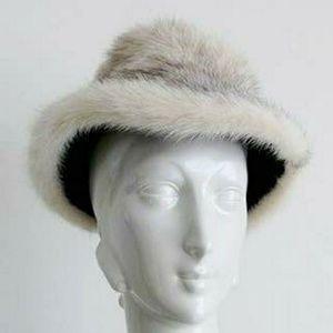 Vintage Mr. D 50s Mink Fur Hat luxury winter